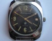 Super rare VOSTOK KOMANDIRSKIE Soviet Russian watch  USSR 50s Chistopol