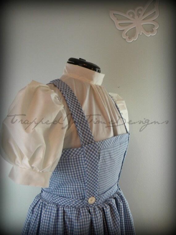 Dorothy Dress, Gothic Lolita Dress, Wizard of Oz--Ready to Ship--