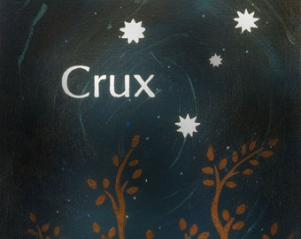 Crux - Southern Cross Constellation Postcard Print
