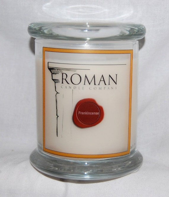 Frankincense SOY CANDLE - FREE Shipping in U.S.A. and Canada