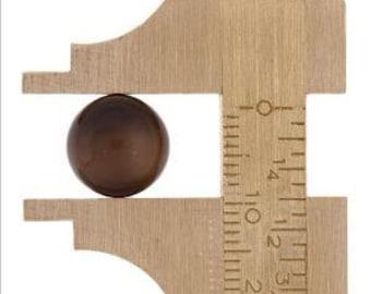 Gauge, Brass, 4-5/8x1-5/16 Inches Precision Made, Sliding