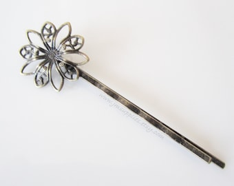LAST ONES Antique Bronze Bobby Pins