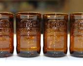 YAVA Glass - Upcycled Ibc Root Beer Glasses (Set of 4)