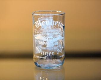 YAVA Glass - Upcycled Blenheim Ginger Ale Soda Bottle Glass