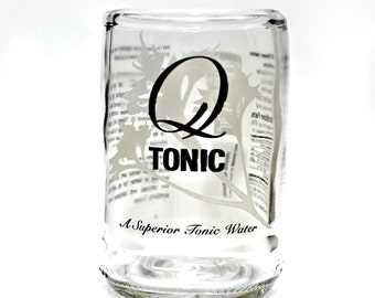 YAVA Glass - Upcycled Q Tonic Bottle Glass