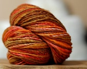 Waving Woods - 184 yards BFL handspun yarn