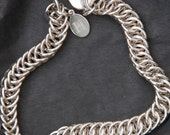 Persian 4in1 Sterling Silver Chainmaille Bracelet -  Hallmarked