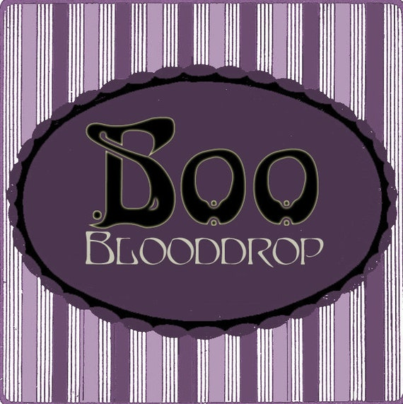 Blooddrop Boo Perfume Oil Autumn Halloween Limited Edition