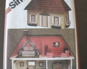 Doll House and Furnishings Vintage Pattern