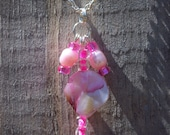Pink Pink Pink Shell Necklace