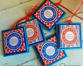 Train Favor Tags...Set of 12 Favor Tags