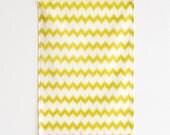 Chevron Pixel Tea Towel