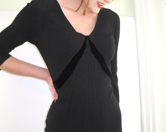Vintage Little Black Dress by Ghost from Basia's Private Collection