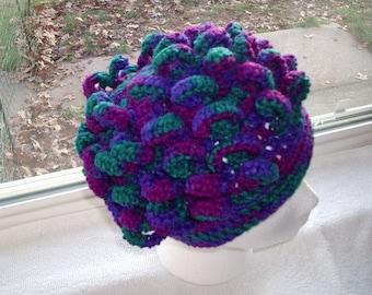 Crochet PATTERN: Curl crochet Hat Crochet Pattern PDF, Free shipping pattern by Kelly Taylor