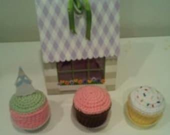 Crochet Cupcake Pattern PDF File