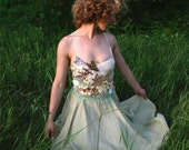 Bohemian wedding dress, Farfalla , Hippie Wedding Dress, Hemp Wedding Dress, Fairy Wedding Dress, Unique Alternative Wedding Dress