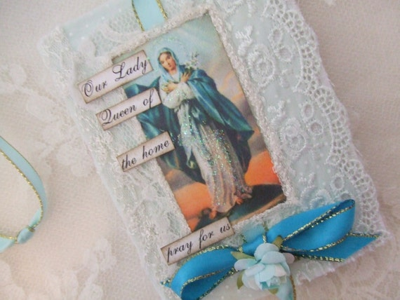 Virgin Mary  Mini Journal