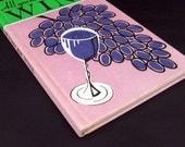 Cute Hardcover Vintage Wine Book