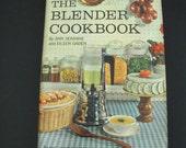 SALE      The Blender Cookbook - Vintage 1961--Hardcover