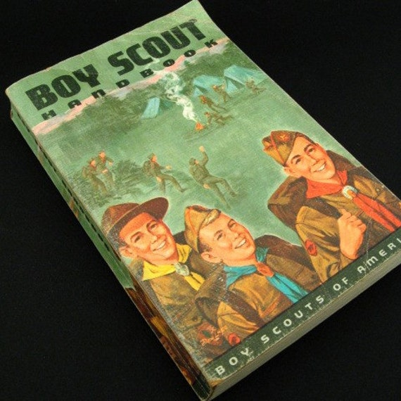 Vintage Boy Scout Handbook 1966
