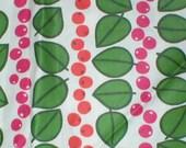 5/8 yards 36 wide Vintage 50s Scandinavian print cotton quilt dressmaking fabric