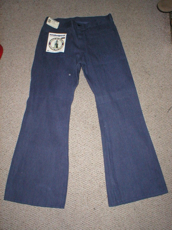 Mens Brown Jeans Denim