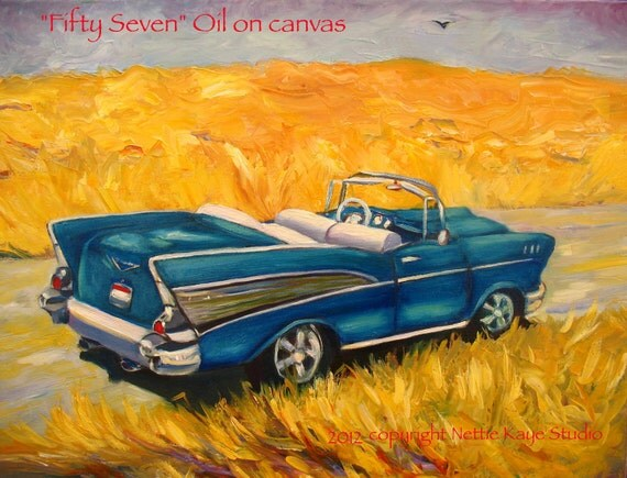 CLEARANCE FIFTY SEVEN original oil painting