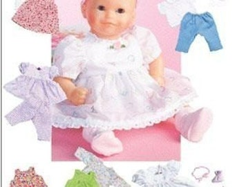 DOLL CLOTHES PATTERN - Sew for Bitty Baby - Bitty Twins and Baby Dolls