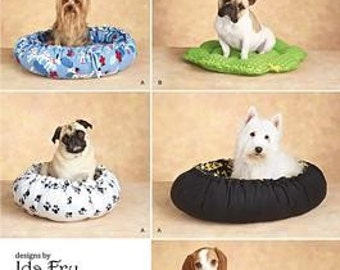 DOG BED PATTERN / MakeTwo Styles Of Beds For Small - Medium - Large Dogs