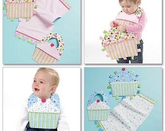SALE / BIB PATTERN / Make Baby Burp Cloth - First Birthday Bib - Ribbon Toy for Boys and Girls