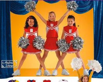 CHEERLEADER COSTUME PATTERN / Cheerleading Outfits for Preschoolers and Girls