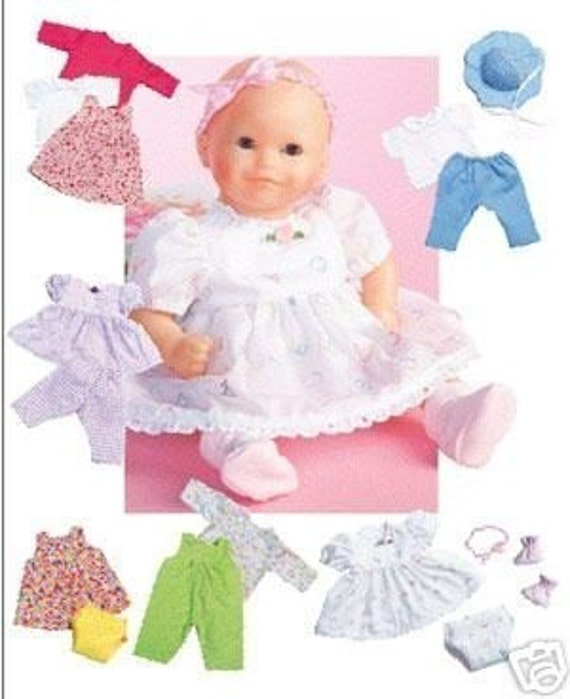 Inspiration for Crafting: Itty Bitty Baby Dress Enlargement