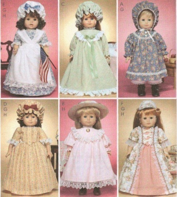 Colonial style dress patterns