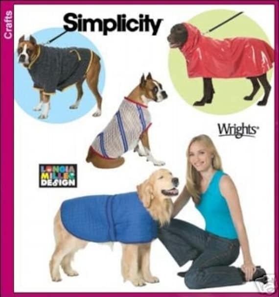 Free Sewing Pattern For Large Dog Coat