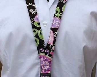 Lanyard - ID Holder - Boho Blossoms
