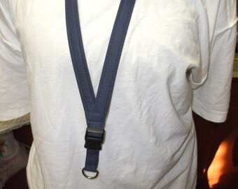 Lanyard - ID Holder - Navy Blue