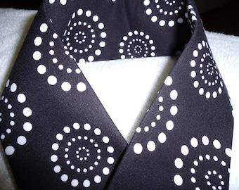 SLR Camera Strap Cover - Retro Dots