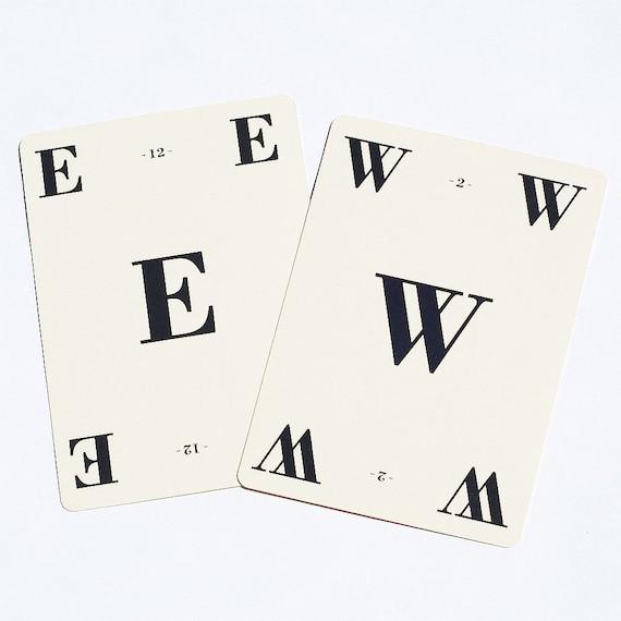 vintage craft supplies- 35 alphabet letter game cards
