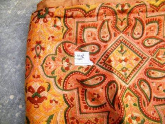 second-hand silk sari sections- 0925 A