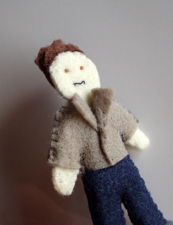 Edward Cullen from Twilight doll