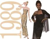 80s Cocktail Dress Vintage Sewing Pattern - Multisize - Simplicity 9508 - UNCUT FF
