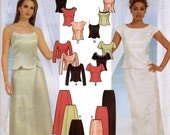 Evening Wear Sewing Pattern Multisize Simplicity 7219 - Uncut, Factory Folds
