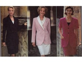 Design Your Own Suit Sewing Pattern - Size 8, 10, 12 - Simplicity 9878 - Uncut, Factory Folds