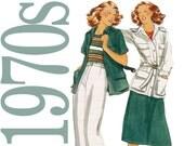 70s Separates Vintage Pattern - Misses Pants Sewing Pattern - Butterick 5272 - Uncut, Factory Folds, NOS