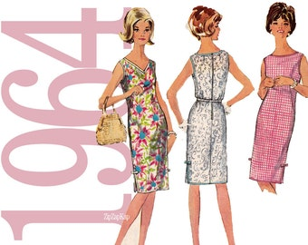 60s Dress Vintage Sewing Pattern - 31-32 Bust - Simplicity 5504