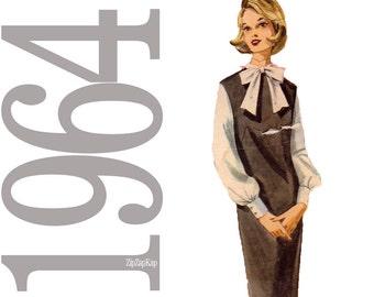 60s Jumper, Blouse Vintage Pattern - 38 Bust Sewing Pattern - Butterick 3082