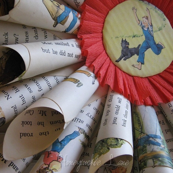 VINTAGE ALICE and JERRY WREATH for NURSERY \/ CHILDREN \/ BOYs ROOM cssteam