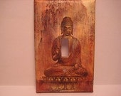 Buddha Light Switch Plate Cover