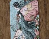 10 Handmade Paper Tags, Vintage Gift Tags, Fairy Tale Tags, Fairies