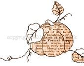Digital Stamp Pumpkin Dinner